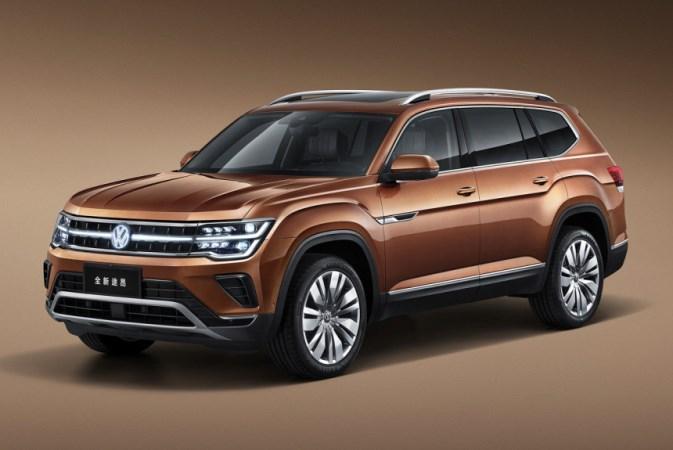 Volkswagen Teramont, кроссовер, для Китая