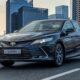 В России начались продажи обновленного бизнес-седана Toyota Camry