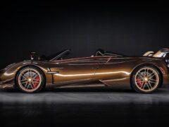 Pagani представила эксклюзивную версию родстера Huayra Roadster BC