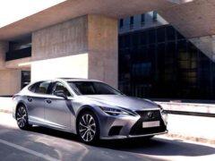 В России начались продажи обновленного седана Lexus LS