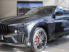 В России начались продажи обновленного Maserati Levante