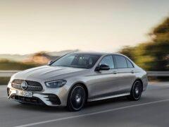 Mercedes-Benz выпустил седан E 350 eL с расходом топлива 1,4 л