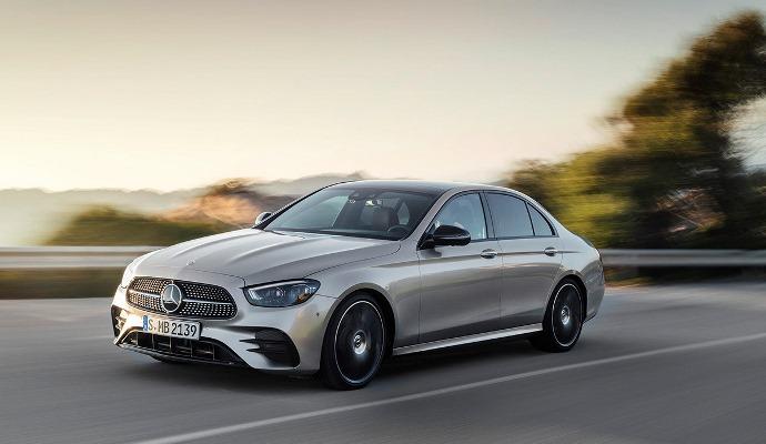 Mercedes-Benz E-Class, новый