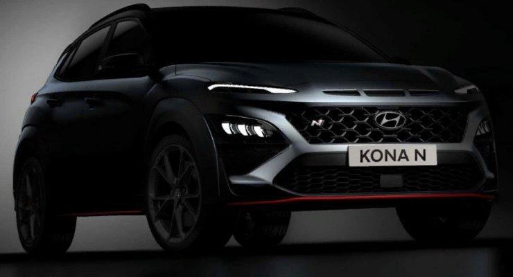 Hyundai Kona N, спортивный кросс