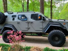 В Канаде создан апокалиптический броневик Gurkha