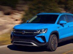 Новый кроссовер Volkswagen Taos получит четыре комплектации в России