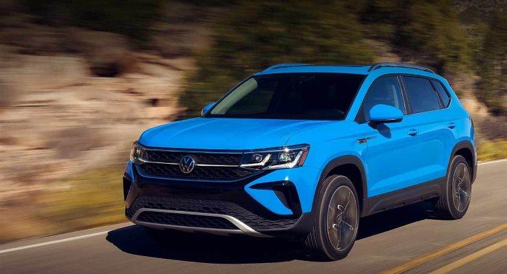 Volkswagen Taos, новый кроссовер