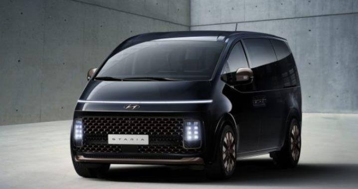 Hyundai Staria, минивэн