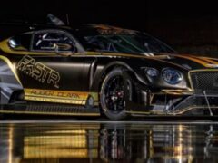 Bentley представил гоночный автомобиль Continental GT3 Pikes Peak