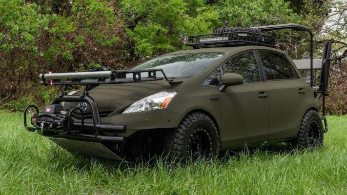 Predator Prius, тюнинг Toyota Prius