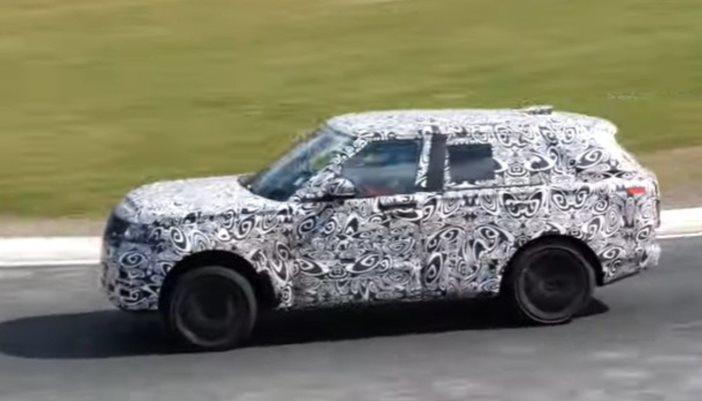 Range Rover, внедорожник, пятой генерации