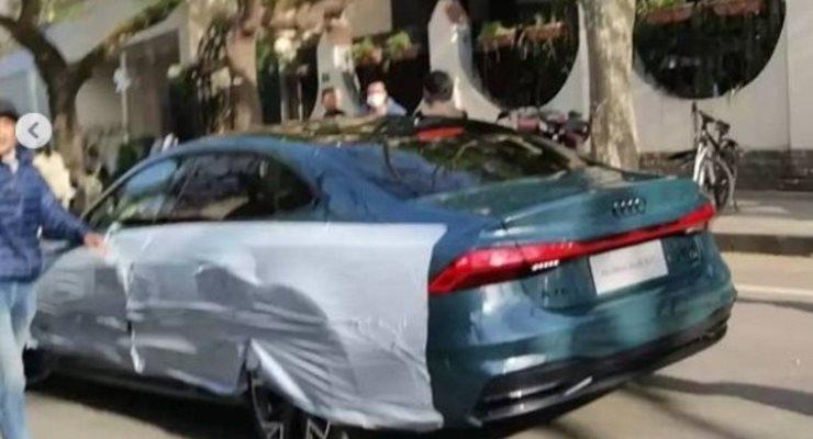 Audi A7 L, седан удлиненный