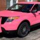 На аукционе продадут розовый полицейский перехватчик Ford Explorer