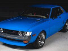 На аукционе выставлена отреставрированная Toyota Celica 1974 года