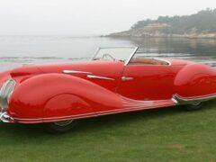 Составлен рейтинг самых красивых автомобилей послевоенной эпохи