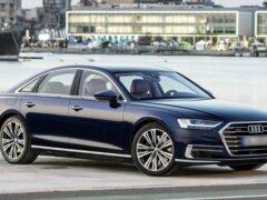 В Сети появились первые рендеры рестайлингового седана Audi A8
