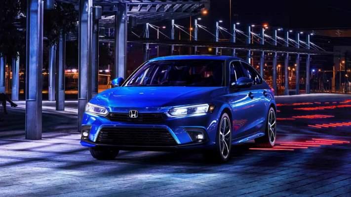 Honda Civic XI, новый седан