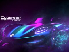 MG рассекретил супербыстрый концепт Cyberster