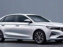 В Китае представлен седан Geely Emgrand третьего поколения