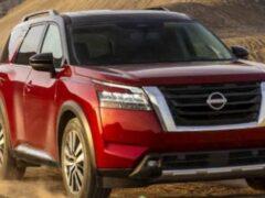 Nissan представил новый внедорожник Pathfinder 2022 года