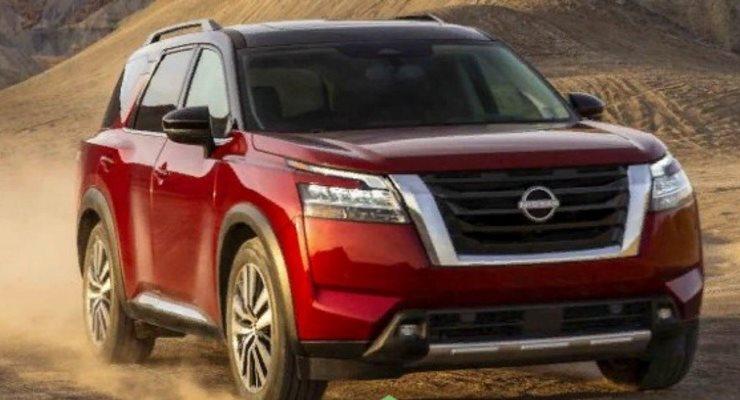 Nissan Pathfinder 2022 года