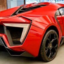 На торги выставят единственный уцелевший ливанский спорткар из «Форсажа»