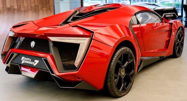 Lykan HyperSport, суперкар, Форсаж