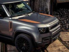 Для нового Land Rover Defender выпустили набор ржавых деталей