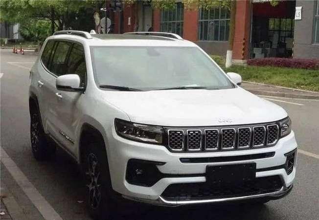 Jeep Grand Commander, кроссовер