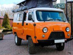 Кемпер УАЗ «Байкал» скоро поступит в продажу
