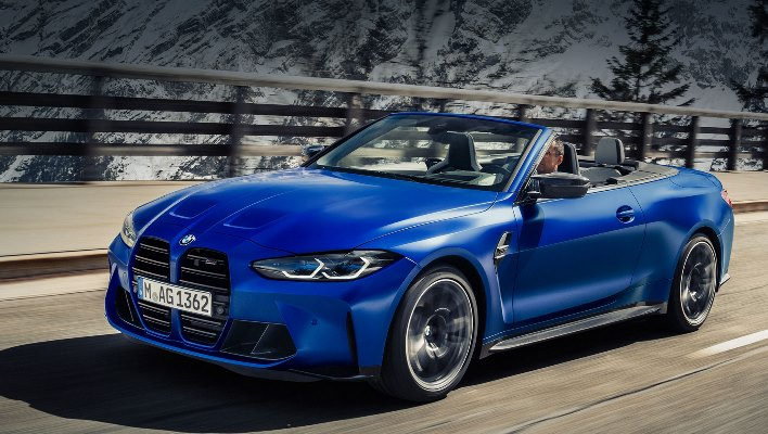 BMW M4 Competition Convertible xDrive, кабриолет