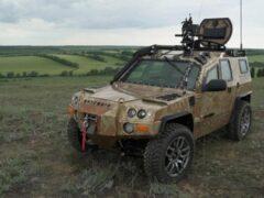 В России разработали новый внедорожник «Наемник» для силовиков