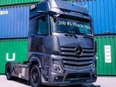 Mercedes-Benz представил премиальный грузовик Actros Edition 2