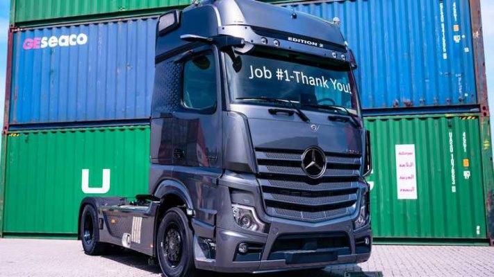 Mercedes Actros Edition 2, грузовое авто