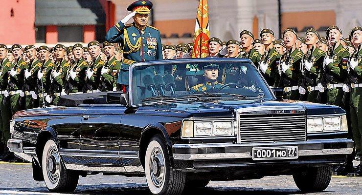 авто, День Победы, парад