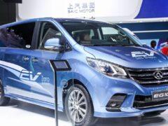 SAIC начал продажи минивэнов Maxus EG10 нового поколения