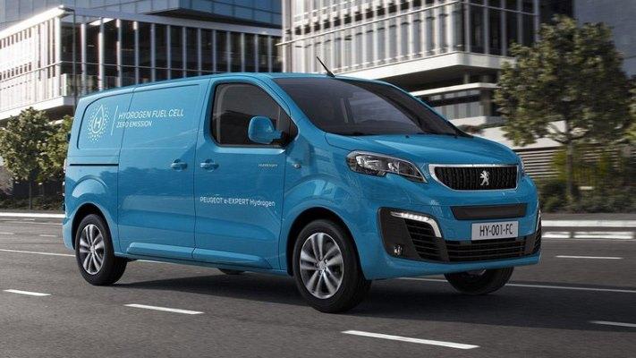 Peugeot e-Expert, водородный