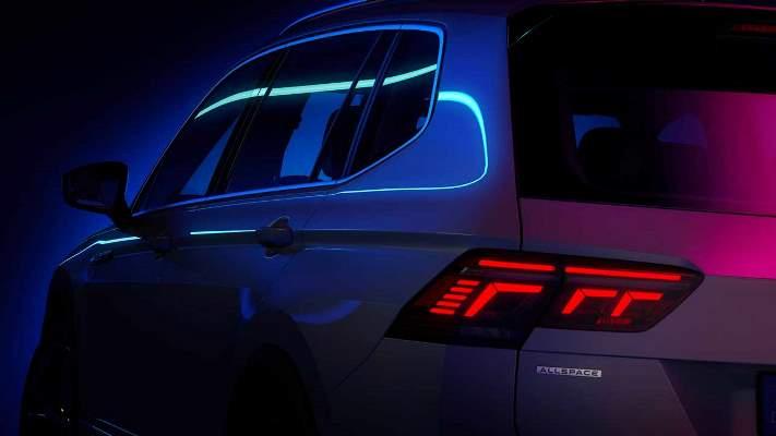 Volkswagen Tiguan Allspace, обновленный