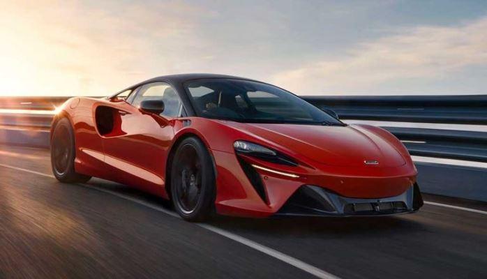McLaren Artura, гибрид, 2022 года