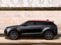 Новая спецсерия Range Rover Evoque появится в России