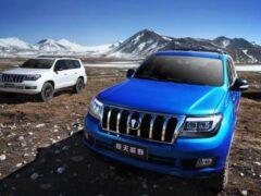 Китайский клон Toyota Land Cruiser 200 появится после завершения продаж оригинала