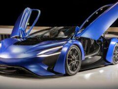 Automobili Estrema представила электрический гиперкар Lightning Xtreme