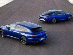 Volkswagen Arteon R и Arteon R Shooting Brake поступили в продажу