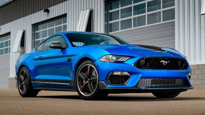 Mustang Mach 1, спорткар