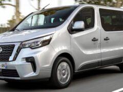 Поступил в продажу обновленный фургон Nissan NV300 Combi