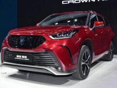 Toyota начнёт продажи нового кроссовера Crown Kluger в июле 2021 года