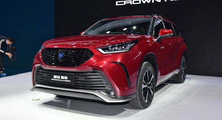 Toyota Crown Kluger, новый