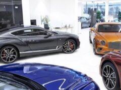 Рынок новых люксовых автомобилей вырос впервые за последние семь месяцев