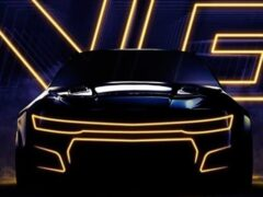 Компания Chevrolet показала гоночный Camaro нового поколения