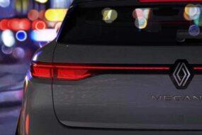 Компания Renault покажет электрический Megane в этом году